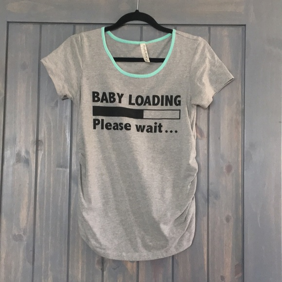 Active Maternity Tshirt Size Tops